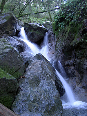 Sugarloaf Ridge State Park - Image: Sugarloaf SP Waterfall 2887