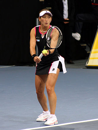 Kim Clijsters - Ai Sugiyama, Clijsters's doubles partner in 2003