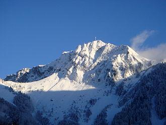 Rochers de Naye - Image: Sumspic Rochers de Naye en hiver