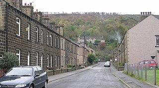 Eastburn, West Yorkshire village in United Kingdom