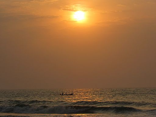 Sunrise-besant-nagar-beach-chennai-india-2