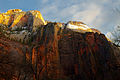 Sunrise in Zion Canyon, Utah.jpg