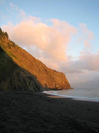 King Range Wilderness - Sunset on the Lost Coast, California.