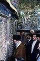 Supreme Leader Ali Khamenei in Shah Abdol Azim Mosque (9).jpg