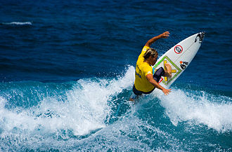 Isabela, Puerto Rico - Middles Beach, a popular spot for international surfing competitions