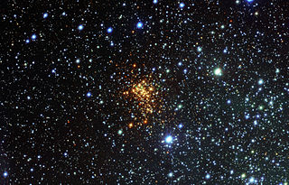 Westerlund 1 Super star cluster in Milky Way