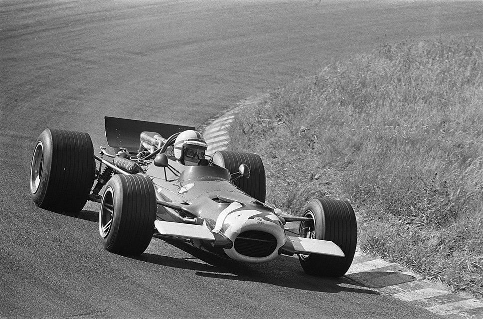 Surtees at 1969 Dutch Grand Prix