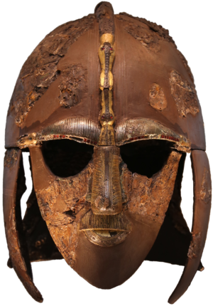 Sub-Roman Britain - The famous Sutton Hoo helmet, 7th century