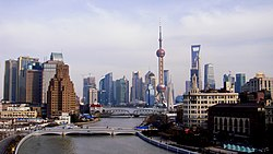 Suzhou Creek From General Post Office 2011.jpg