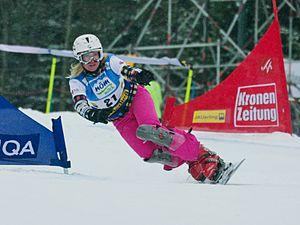 Svetlana Boldykova - Image: Svetlana Boldykova FIS World Cup Parallel Slalom Jauerling 2012