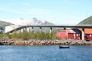 Svinøy Bridge - View of the bridge