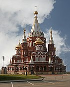 Svyato Mihailovsky Cathedral Izhevsk Russia Richard Bartz.jpg