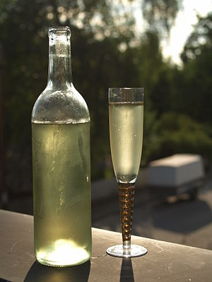 Mead - Swedish elderflower flavored mead.