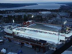 Östersunds skistadion Bilden taget fra Arctura.