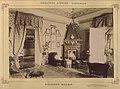 Szlovákia, Videfalva. Asbóth János kastélyának dolgozószobája. A felvétel 1895-1899 között készült. - Fortepan 83429.jpg