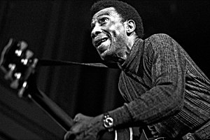 T-Bone Walker - Walker at the American Folk Blues Festival in Hamburg, March 1972