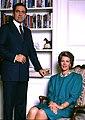 T.M. Costantine II & Anne -Marie of Greece. Allan Warren.jpg