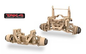 Oshkosh TAK-4 Independent Suspension System - TAK-4 independent suspension system is a family of independent suspension systems designed and manufactured by Oshkosh Corporation for use on military, severe-duty and emergency vehicles.