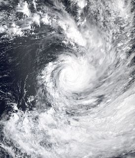 Cyclone Nancy Category 4 South Pacific cyclone in 2005