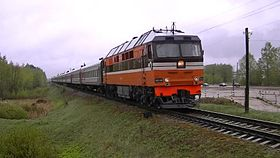 Файл:TEP70-0183 with passenger train.webm