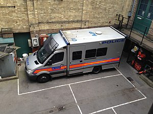 Territorial Support Group - TSG Public Order Vehicle (Carrier)