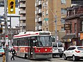 TTC streetcar visible by Dundas Square, 2015 12 01 (24) (23111446229).jpg