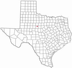 Location of Tye, Texas