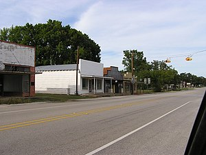 Midway, Texas - Downtown Midway, 2010