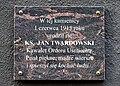 Tablica Jan Twardowski ul. Koszykowa 20 w Warszawie.jpg