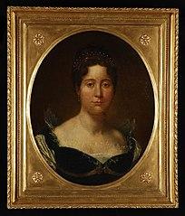 Portret van Augusta Eleonora Carolina, gravin Von Hohenlohe Langenburg (1775-1813)