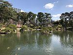 Takueichi Pond in Shukkei Garden 17.jpg