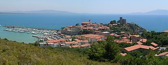 Talamone - View of Talamone