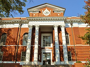 Talladega County, Alabama - Image: Talladega County Alabama Courthouse