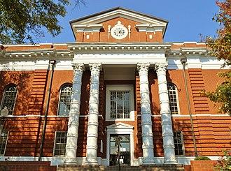 Talladega, Alabama - Image: Talladega County Alabama Courthouse