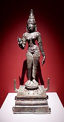 Standing figure of Parvati