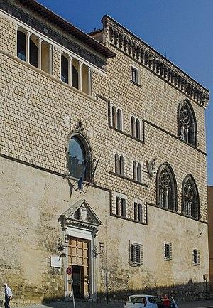 Tarquinia National Museum - Image: Tarquinia, photo Paolo Villa VR 2008, IMGP3375 tris Pal Vitelleschi, Paolo Villa VR