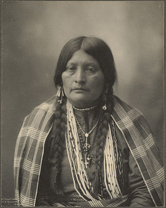 Wichita people - Tatum, a Wichita woman, 1898