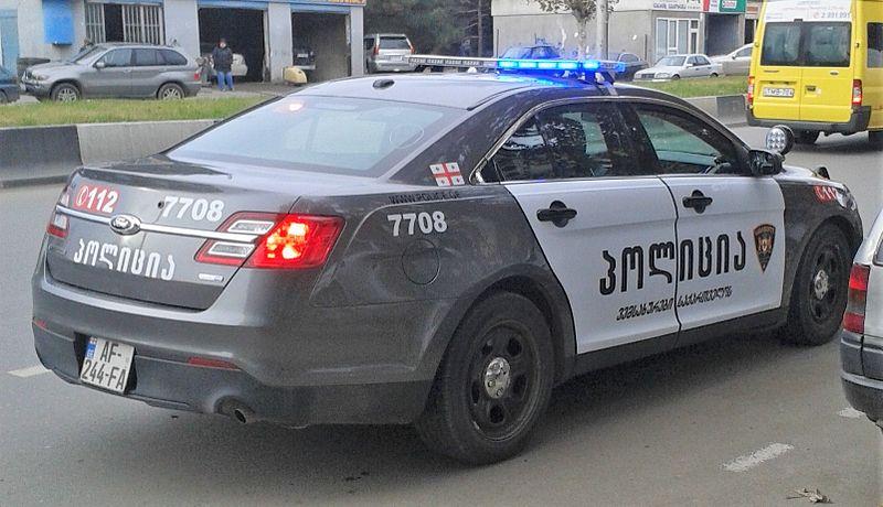 Tbilisi, Georgia %E2%80%94 Georgian Police%27s new patrol car (3).jpg