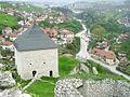 Tešanj, mesto z hradniho pahorku.jpg