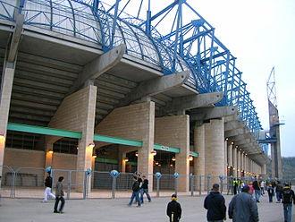 Teddy Stadium - Image: Teddy Kollek Stadium Outside