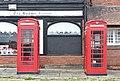 Telephone kiosks at Port Sunlight Post Office.jpg
