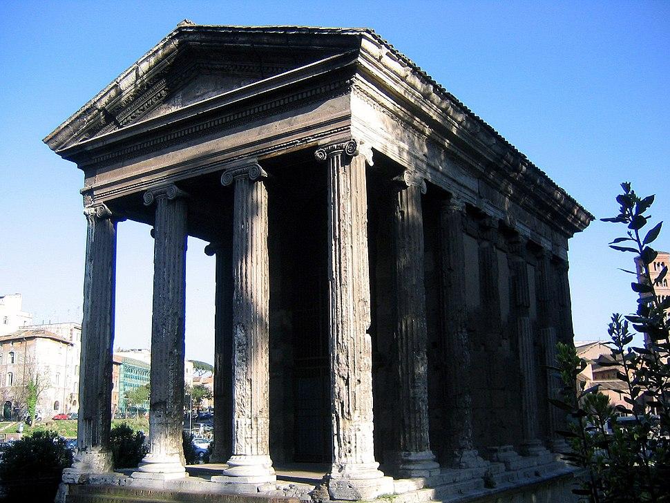 Temple of portunus front