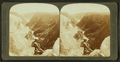 Ten Miles of yawning chasm - down the cañon from Inspiration Point, Yellowstone Park, U.S.A, by Underwood & Underwood 2.png