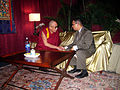 Tenzin Gyatso, 14th Dalai Lama with Keith Ellison2.jpg