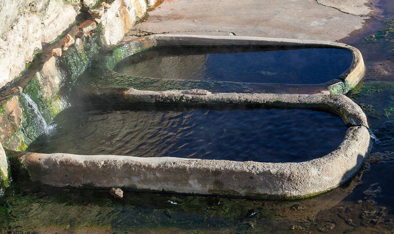 Diseno De Baños Termales: aire libre de Aquis Querquennis Baños de Bande Galiza 2013-3jpg