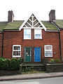Terraced houses on Briston Road (B1354) - geograph.org.uk - 953248.jpg