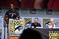 Terry Crews, David Ayer & Noomi Rapace (36102064466).jpg