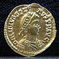 Tesoretto di sovana 024 solido di libio severo (462), zecca di roma.JPG