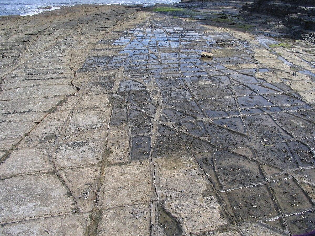 Tessellated pavement - Wikipedia