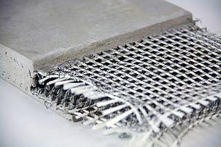 Textile-reinforced concrete